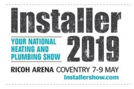 Installer 2019 Ricoh Arena Coventry 7-9 May 2019