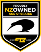 NZ Owned & Operated badge
