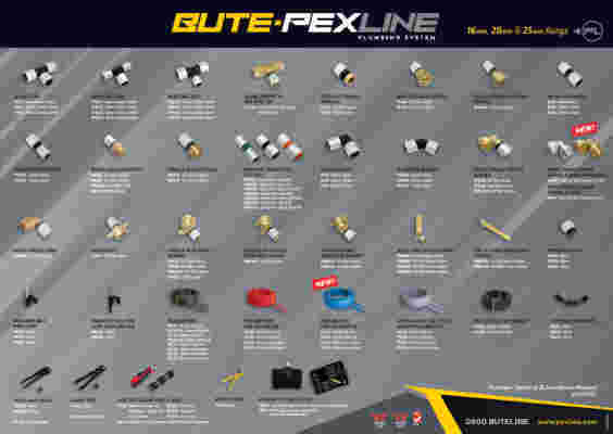 Pexline Product Wallchart